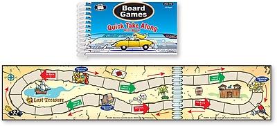 Super Duper Publications Quick Take Along, Board Games, Mini Book, Paperback (TA170)