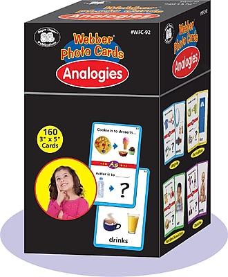 Super Duper Publications Photo Cards, Analogies, Box (WFC92)