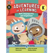Adventures in Learning, Grade K Paperback (704725)