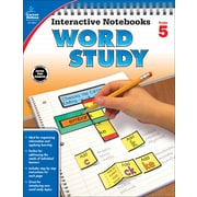 Interactive Notebooks Word Study, Grade 5 Paperback (104951)