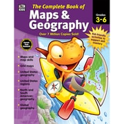 Complete Book of Maps & Geography, Grades 3 - 6 Paperback (704931)