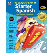 Complete Book of Starter Spanish, Grades Preschool - 1 Paperback (704928)