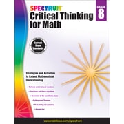 Spectrum Critical Thinking for Math, Grade 8 Paperback (705120)