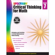 Spectrum Critical Thinking for Math, Grade 7 Paperback (705119)