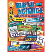 Mark Twain Clip Art Math and Science Graphic Collection CD Grades 5 - 8 1 CD (405000)