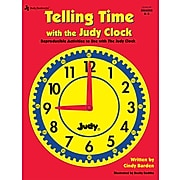 Telling Time with the Judy® Clock, Grades K - 3 Paperback (1564178390)