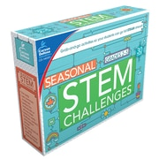 Carson-Dellosa Learning Cards Seasonal Stem Challenges Grades 2–5 33 Pieces (140351)