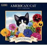 Lang American Cat 2019 Wall Calendar (19991001889)