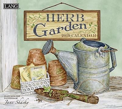 Lang Herb Garden 2019 Wall Calendar (19991001914)