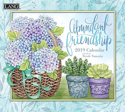 Lang Abundant Friendship 2019 Wall Calendar (19991002005)