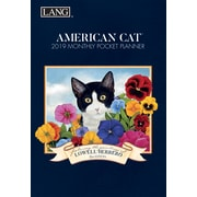 Lang American Cat 2019 Monthly Pocket Planner (19991003156)
