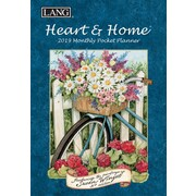 Lang Heart & Home 2019 Monthly Pocket Planner (19991003161)