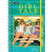 "2019 LANG 9"" x 6.25"", Monthly Spiral Planner, Girl Talk, Engagement (19991011106)"
