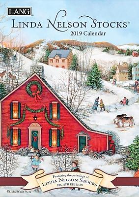 Lang Linda Nelson Stocks 2019 Monthly Planner (19991012100)