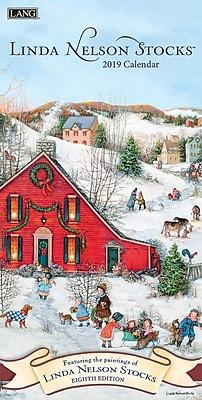 Lang Linda Nelson Stocks 2019 Vertical Wall Calendar (19991079120)