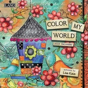 "2019 LANG 7"" x 7"" Color My World Mini Wall Calendar (19991079239)"