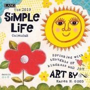"2019 LANG 7"" x 7"" Simple Life Mini Wall Calendar (19991079245)"