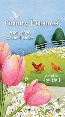 Wells St By Lang Country Pleasures 2019 2-Year Planner (19996110014)