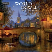 Wells St By Lang World Travel 2019 12X12 Wall Calendar (19997001719)