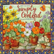 Wells St By Lang Simply Grateful 2019 12X12 Wall Calendar (19997001728)