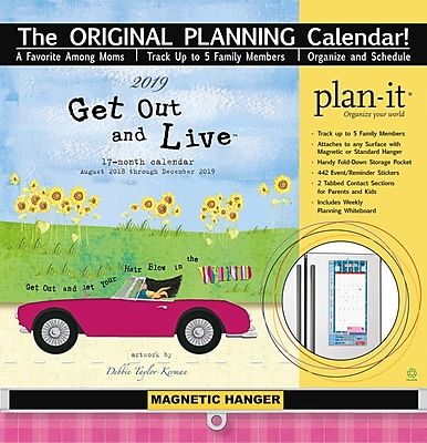 Wells St By Lang Get Out And Live 2019 Plan-It Plus (19997009172)