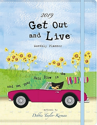 Wells St By Lang Get Out And Live 2019 Monthly Planner (19997050010)