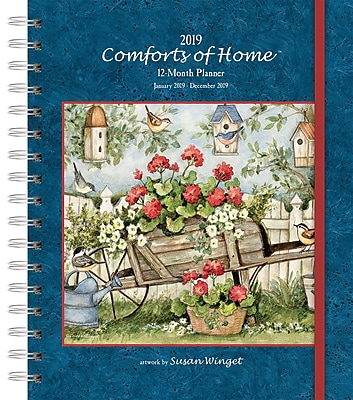 Wells St By Lang Comforts Of Home 2019 File-It Planner (19997071002)