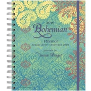 Wells St By Lang Bohemian 2019 File-It Planner (19997071004)