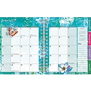 """2019 LANG 9.25"""" x 7.65"""", Academic Monthly Planner, Fanciful, Plan-It (19997081004)"""