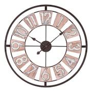 La Crosse Clock 27.5 Inch Industrial Decorative Round Quartz Wall Clock (404-4070)