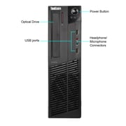 Lenovo M82 Small Form Factor Refurbished Desktop Computer, Intel Core i5 Processor, 4GB Memory, 500GB HDD