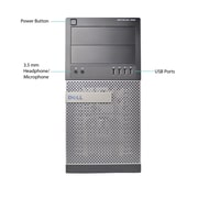 Dell 990 Tower Desktop Computer, Core i5 Processor, 8GB RAM Memory, 500GB HDD, Refurbished