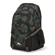 High Sierra Loop Shattered Camo Backpack, Black/Olive (53646-6792)