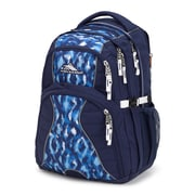 High Sierra Swerve Backpack, True Navy/Island Ikat/White (53665-6807)