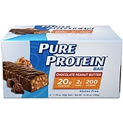 Balance Bar Pure Protein Chocolate Peanut Butter, Pack of 6 (NRN13805)