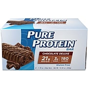 Balance Bar Pure Protein Chocolate Deluxe, Pack of 6 (NRN13809)
