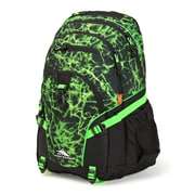 High Sierra Loop Lime Fire Backpack, Black/Lime (53646-6757)