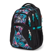 High Sierra Backpack Swerve Black, Tropic Nights, Turquoise (109234-6731)