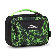 High Sierra Single Compartment Lunch Kit, Lime Fire, Black (74715-6757)