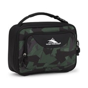 High Sierra Single Compartment Lunch Kit, Shattered Camo, Black (74715-6789)