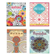 Kappa Books Publishers Lls, Adult Coloring Books Easy Pack Pk24, (809812SS)