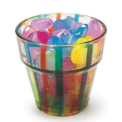 Darice Inc, Glass Flower Pot/Votive Cup Pk24, (GL6370 PK24)