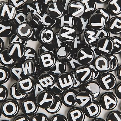 The Beadery, Black Alpha Beads 1/2 Lb Bag, (SS1197052WT)