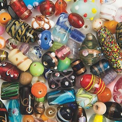 Stanislaus Imports, Fancy Glass Beads 6Oz, (BE820)