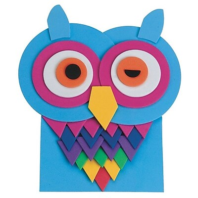S&S Worldwide, Winking Owl Foam Kit Pk/12, (CE4627)