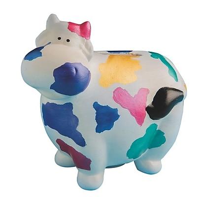 Aurient International Corp, Color Me Cow Bank Unglazed Pk12, (A-9203-A)