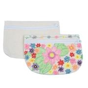 Sew-Star Int'L Trading Co Ltd, Color Me Cosmetic Canvas Bag Pk12, (CM153)
