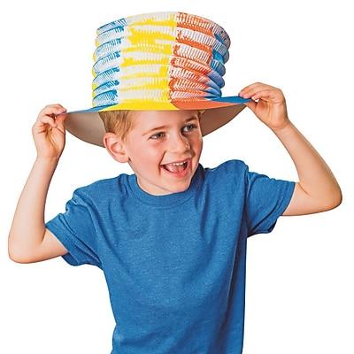S&S Worldwide, Color Me Pop Up Paper Hats Pk/24, (CM181)