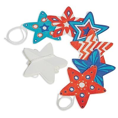 S&S Worldwide, Color Me Star Stringers Pk48, (CM203)