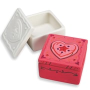 Sew-Star Int'L Trading Co Ltd, Color Me Bisque Trinket Box Pk12, (CM205)